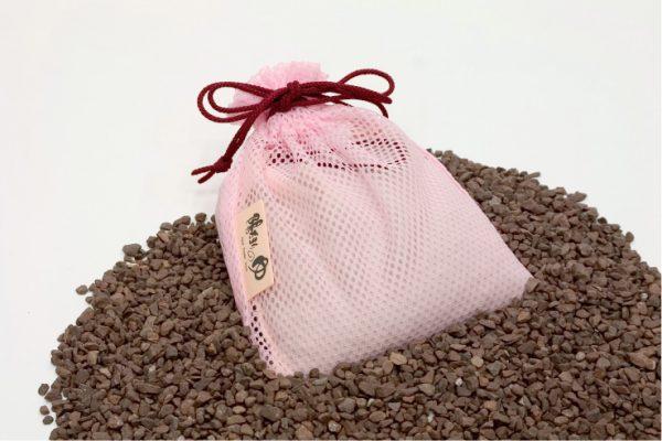 アクアPSの砕石を美容室向け商品に使用