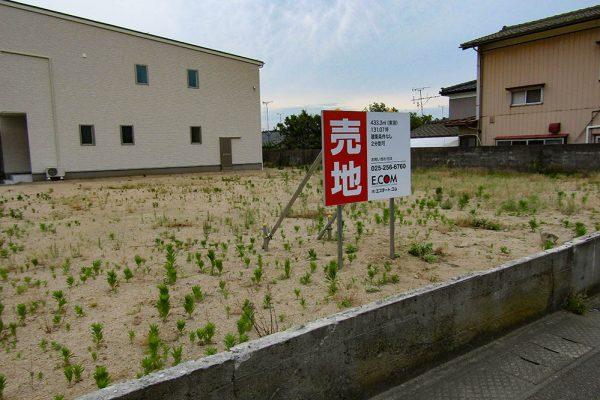 新潟市東区で宅地4ヶ所を販売開始